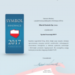 Tytuł Symbol Innowacji 2017 dla Merrid Controls !